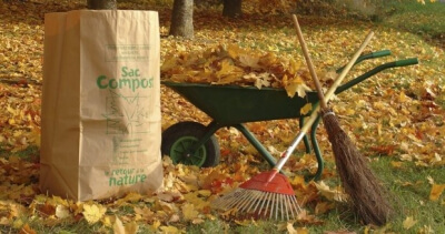 Společný úklid zahrady