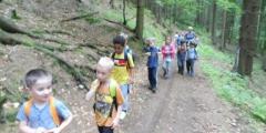 Modráčci ve škole v přírodě na Pastvinách