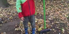 Podzimní práce na zahrádce - Oranžováčci