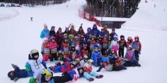 Poslední lyžovačka s MŠ