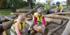 Zeleňáčci poprvé v Tyršových sadech
