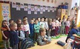 Předškoláci na návštěvě v ZŠ bratranců Veverkových