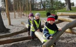 Zeleňáčci užívají jarní počasí